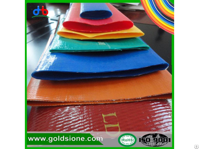 Pvc Lay Flat Hose Colorful