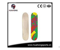 Hd S02 Canadian Maple Skateboard Deck