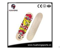 Hs X01 Canadian Maple Skateboard Deck