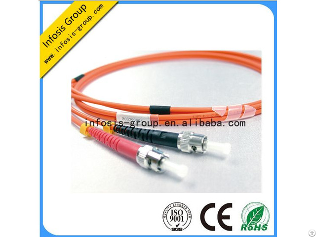 St Pc Uoc Sm Mm Sx Dx Fiber Optic Patch Cords