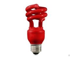Color Spiral Cfl Fluorescent Tube Lamp