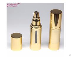 Golden Cosmetic Airless Pump Bottle 30ml 1oz