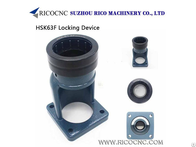 Cnc Toolholder Tightening Fixtures For Hsk63 Iso40 Bt40 Tool Change Out