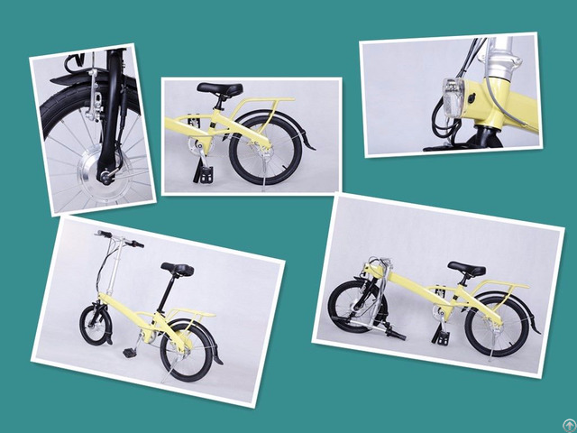 Light Weight Electric Folding Bikes Ebikes
