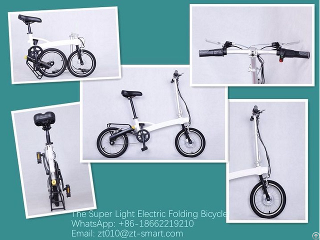 Super Light Electric Folding Ebikes