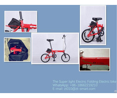 Elctric Folding Bike Light Weight Ebikes
