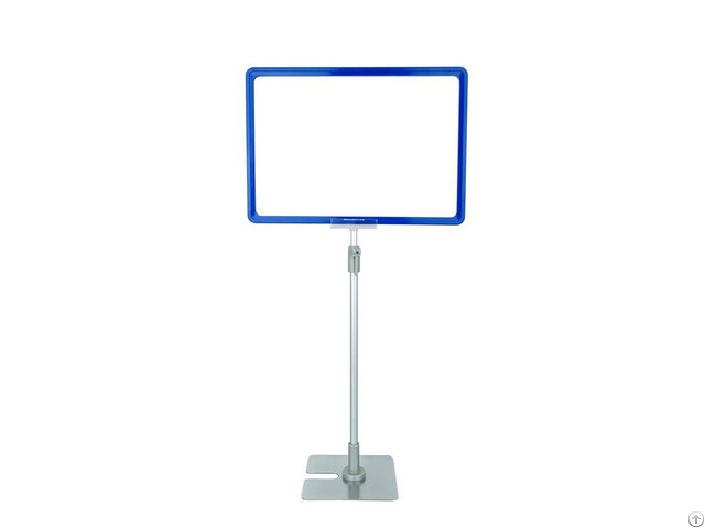 Plastic Promotion Snap Frame For Supermatket Poster Display Stand
