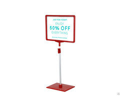 Adjustable Height Showcard Stands