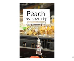 Seafood Area Waterproof Price Tag Clip Poster Holder