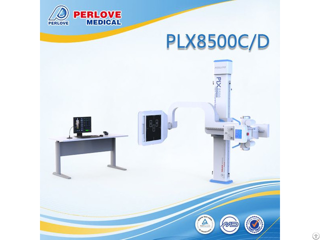 High Quality Dr X Ray System Plx8500c D With Flat Panel Detector