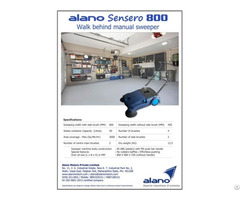 Alano800 Manual Sweeper