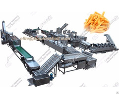 Automatic Frozen French Fries Processing Line
