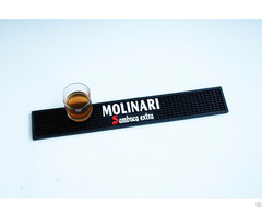 Promotional Printed Customized Logo Rubber Bar Mat