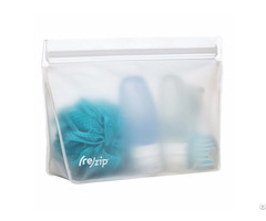 Re Zip Seal Peva Reusable Bag For Multi Purpose Cosmetic Food Gadget Storage
