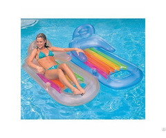 Cool Inflatable Floating Lounge Swimming Pool Toys Summer Water Fun Comfort