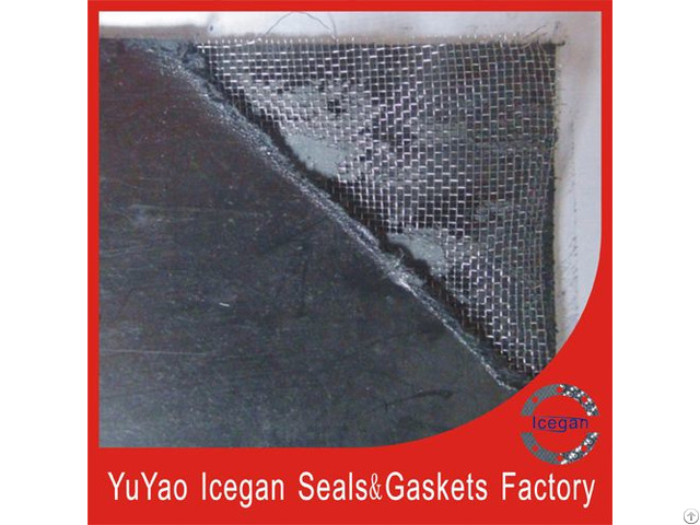 Ig 005 Graphite Reinforced Composite Sheet Lined With Stainless Steel Wire Mesh