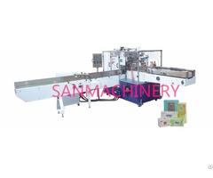 San Tp 602a Napkin Tissue Bag Packing Machine