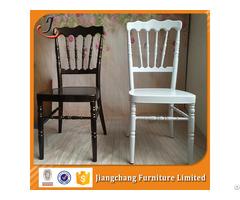 Stackable Aluminum Napoleon Hotel Wedding Chair Jc N09