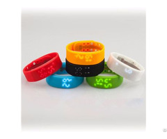 Silicone Led Digital Touch Screen Hand Watch Oem Odm Available