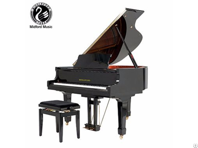 White Baby Grand Piano Gp 152 From Shanghai Middleford Factory