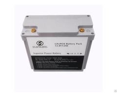 12v 12ah Lifepo4 Battery Pack For Lead Acid Replacement In Solar System