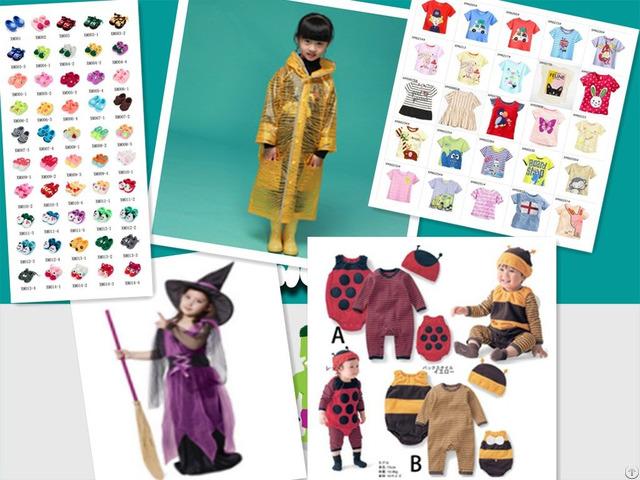 Children Clothing Raincoat Costumes