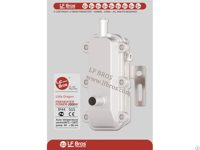 Lf Bros Engine Preheaters With Ce And Rohs Certificate