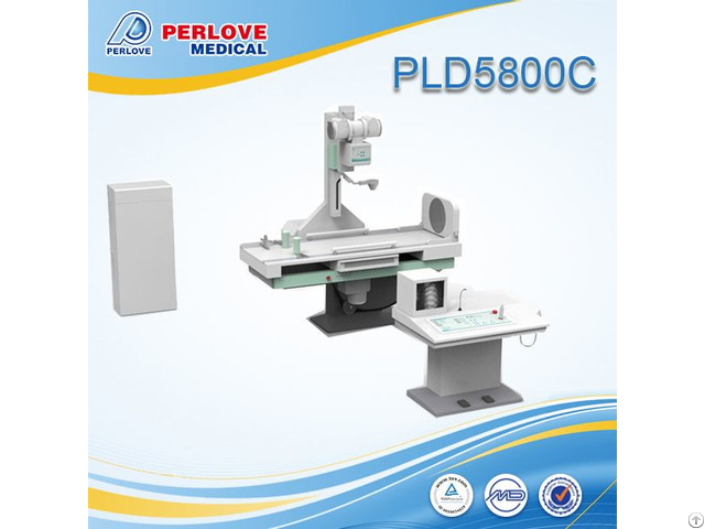 High Quality Competitive Price 630ma Radiographpy Fluoroscope Unit Pld5800c