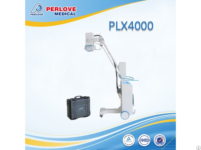 High Quality 100ma Mobile Dr Xray Machine Plx4000 With Built In Battery Supplier