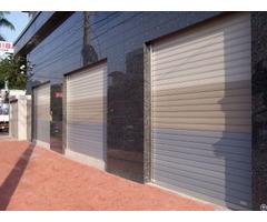 Garage Rolling Door Aluminum Alloy