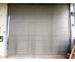 Garage Rolling Door Stainless Steel