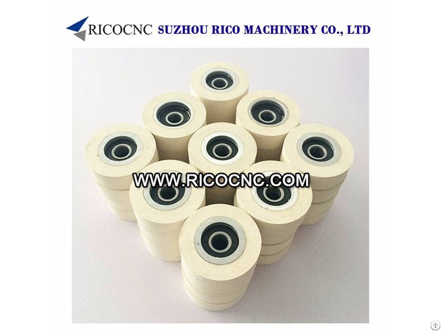 Rubber Pressure Roller Wheels For Edge Banding Machine