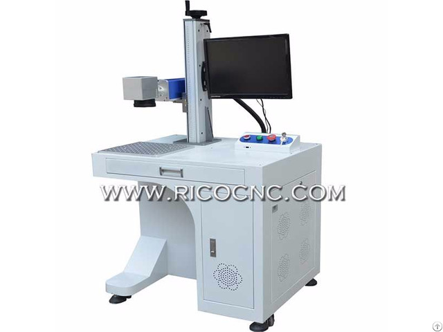 Ricocnc Metal Fiber Laser Marking Machine