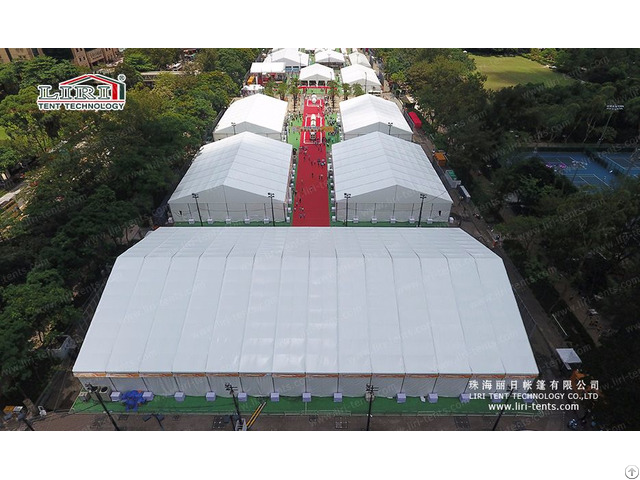 Temporary Exhibition Tent For International Trade Fair Show