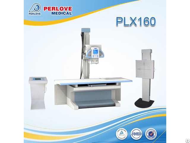 High Quality Fda Approved Fixed X Ray Unit Plx160 With Control Console