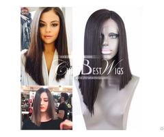 Bob Cut Lace Front Wig Human Hair