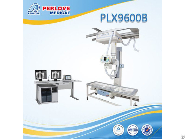 High Frequency Hf Ceiling Suspended X Ray With Transparent Table Plx9600b