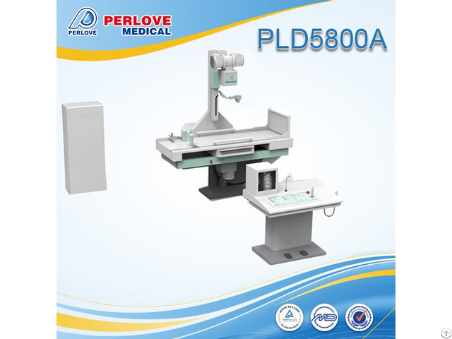 Cost Effective 60khz Fluoroscope Radiography X Ray Unit Pld5800a