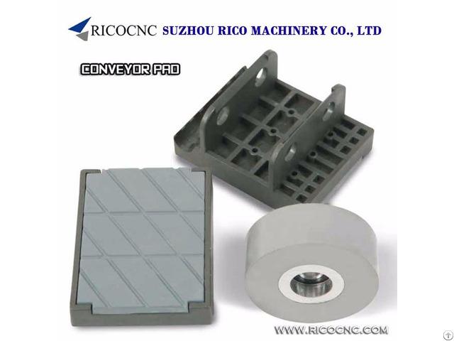 Coveryor Chain Track Pads For Biesse Scm Ima Edgebanding Machine