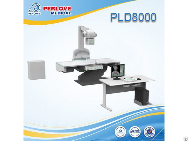 High Frequency Digital X Ray Machine Pld8000 With Low Dose