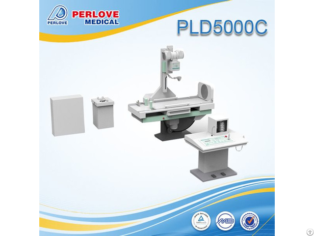 Radiography Fluoroscopy X Ray Machine Pld5000c With 500ma Current