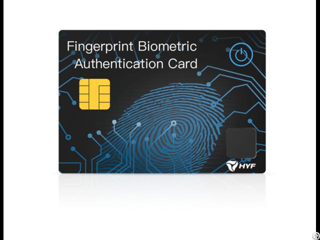 Fingerprint Card Bh001