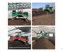 Compost Turner Machine For Waste Composting