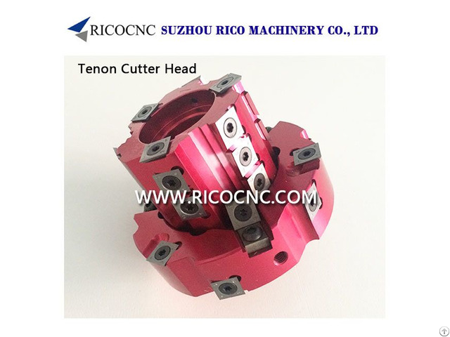 Adjustable Cnc Tenon Cutter Heads With Indexable Inserts