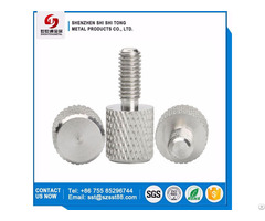 Custom M4 M5 M6 M8 Knurled Thumb Aluminum Screws