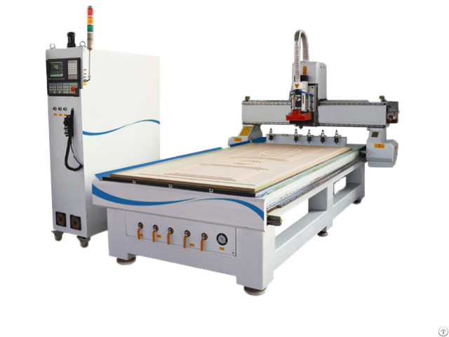 Linear Automatic Tool Change Wood Cnc Router