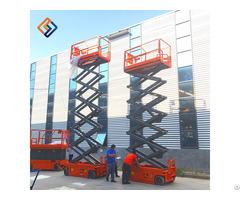Self Propelled Full Auto Electric Hydraulic Scissor Lift With Ce