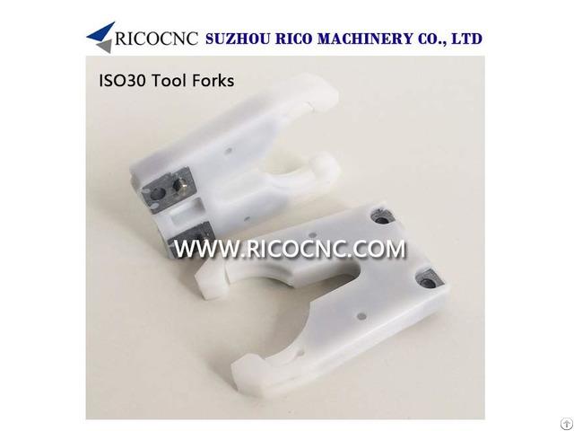 Ricocnc Horquillas Porta Herramientas Iso30 Blanco Para La Máquina Cnc Enrutador