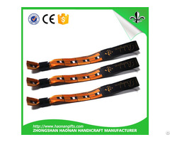 China Wholesale Merchandise My Orders One Off Woven Wrist Band