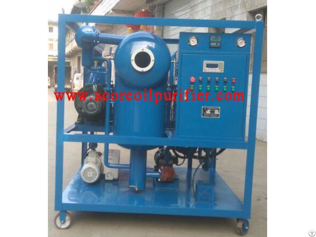 High Vacuum Transformer Oil Purification Plant